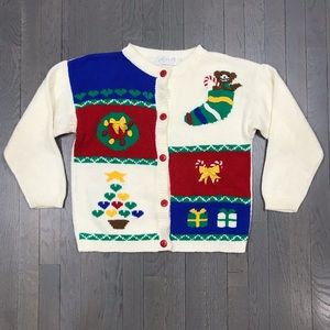Vintage Lord & Taylor Ugly Christmas Sweater